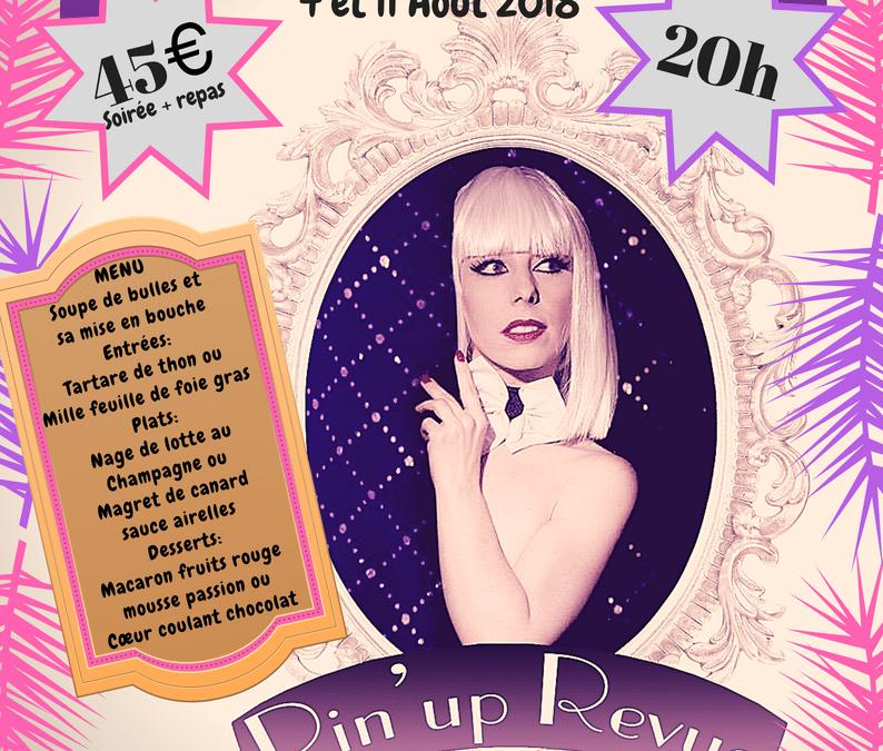 Diner Spectacle Cabaret – Été 2018