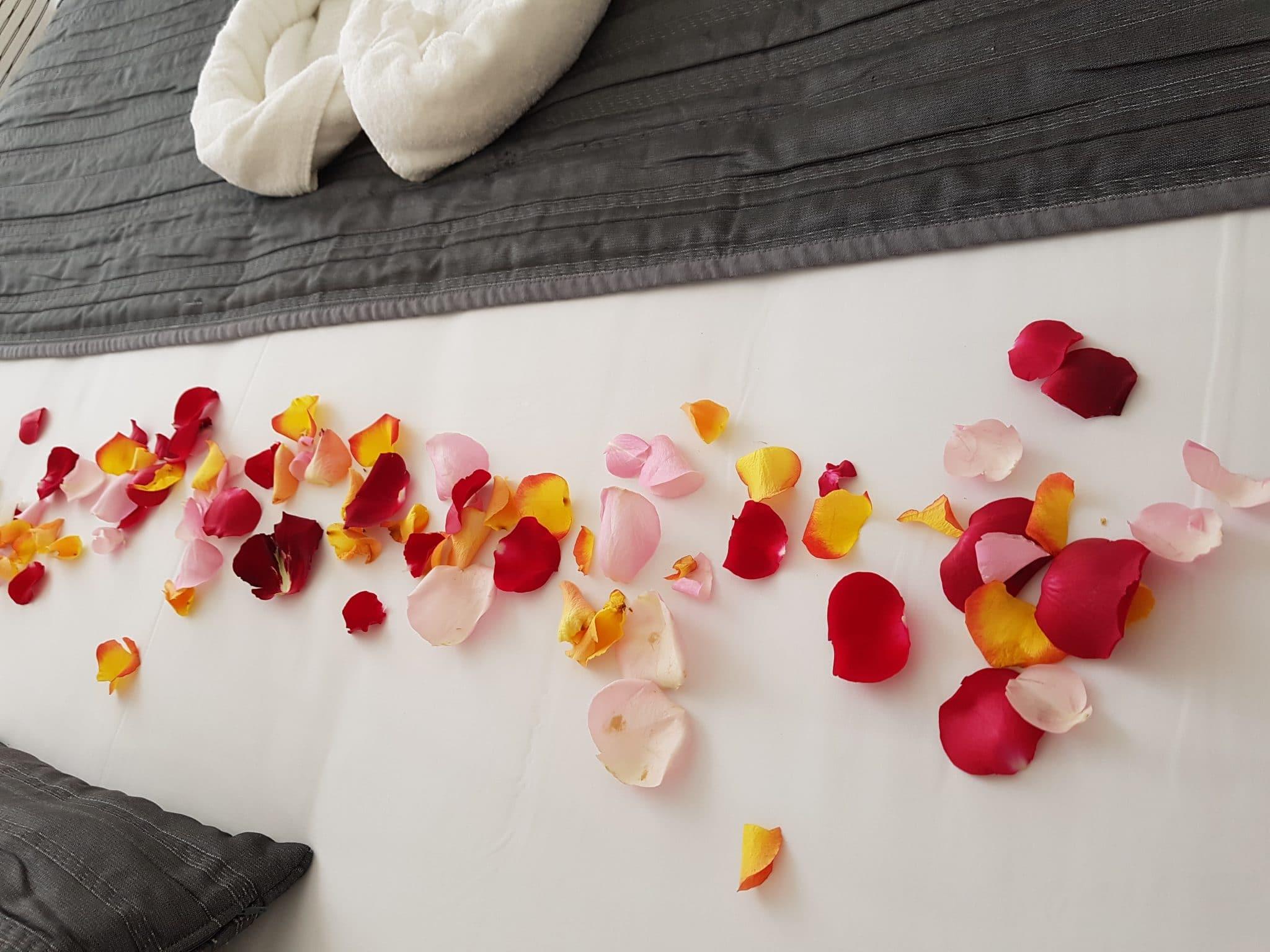 Lit Pétales Roses